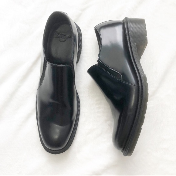 Dr Martens Rosyna Black Wax Polish Slip